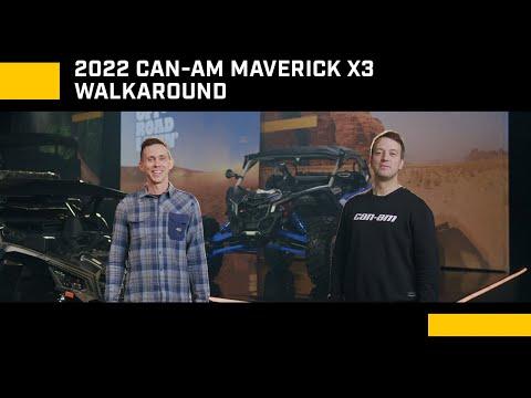 2022 Can-Am Maverick X3 X RC Turbo RR in Lafayette, Louisiana - Video 1