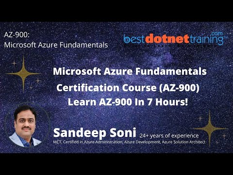 AZ 900 - Microsoft Azure Fundamentals Certification with hands-on ...