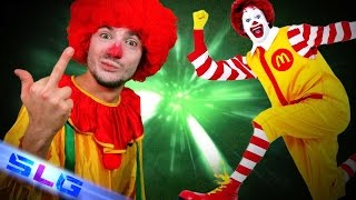 RONALD LE CLOWN IMMORAL   SLG N°88   MATHIEU SOMMET