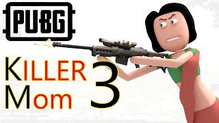 PUBG - Killer Mom Part 3   पब जी किलर माँ 3   Pubg comedy   Goofy Works   Comedy toons
