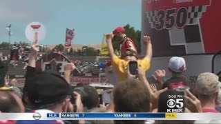 Bay Area NASCAR Fans Say Goodbye To Dale Earnhardt Jr