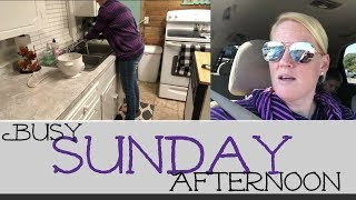 BUSY SUNDAY AFTERNOON // VLOG