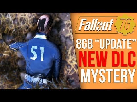 Fallout 76 News - 8GB Update, New DLC Mystery Clue, E3 2019, Banned Players