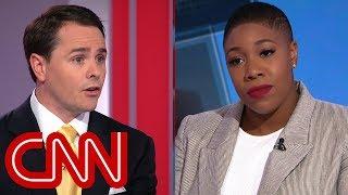 Panel erupts over Trump rally crowd berating CNN reporter