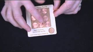 10 Penny Puzzle - A Circle Packing Problem