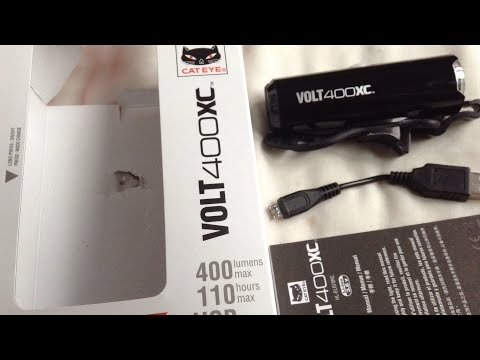 Cateye Volt 400 XC Unboxing Review