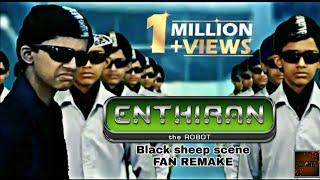 ENTHIRAN : Blacksheep scene Fan Remake | Head rotation remake | AK4EDITS