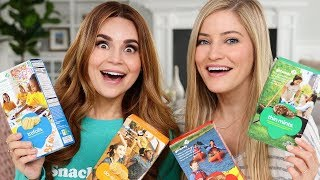 TRYING EVERY GIRL SCOUT COOKIE! W/ IJustine