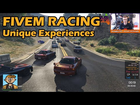 Unique Experiences - GTA FiveM Unique Racing Live #20