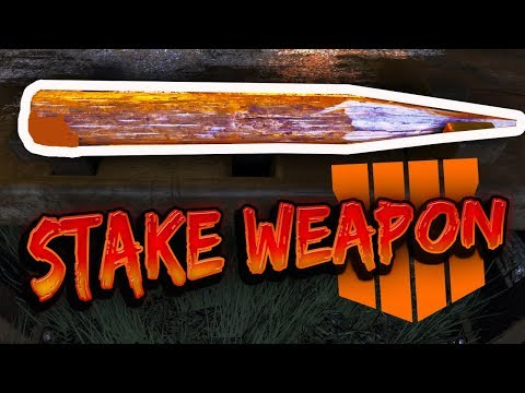 BEST MELEE WEAPON!! VAMPIRE WOODEN STAKE (How to get it FAST)
