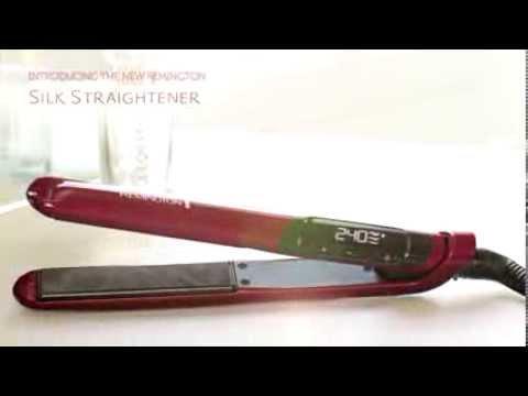 Remington-Style - Placa de par Silk S9600