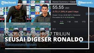 Coca-Cola Rugi Rp57 Triliun Gara-gara Botol Digeser Ronaldo, Ini 4 Fakta Uniknya