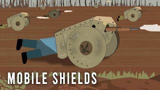 'Mobile' Shields (WWI Weird Tech)