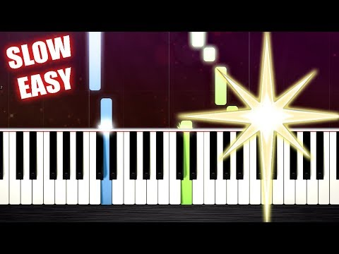 Mary, Did You Know? - SLOW EASY Piano Tutorial by PlutaX