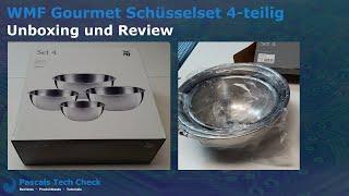 WMF Gourmet Schüsselset 4     Unboxing + Review