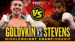 GGG Gennady Golovkin VS Curtis Stevens SHOCK! Powerful Punch