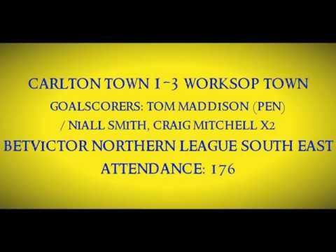 1920 Carlton Town 1-3 Worksop Town - Match Highlights 07/09/2019