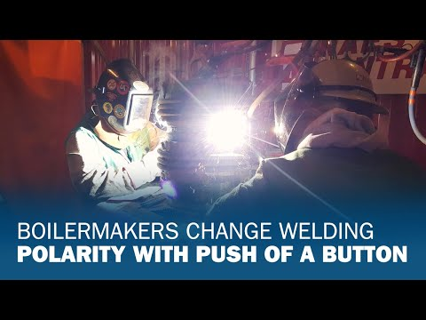Boilermakers Change Welding Polarity With Push of a Button