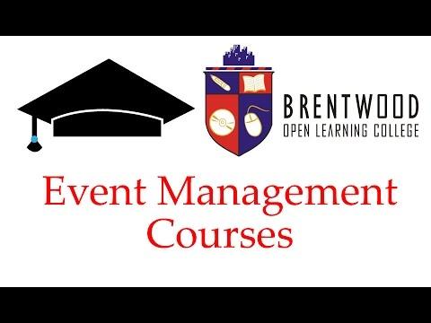Event Management Courses Online, event management ... - YouTube