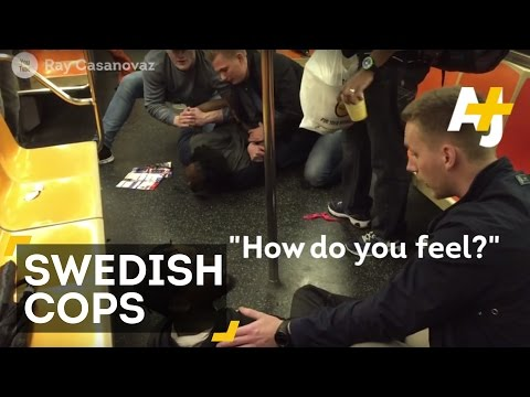 "When Swedish Cops Hear ""I Can't Breathe"""