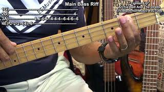 How To Play TIGHTEN UP Archie Bell And The Drells On Bass Guitar 1968  EricBlackmonGuitar
