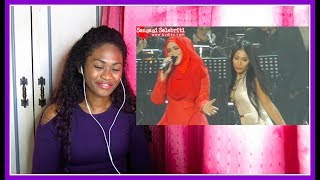 Dato Siti Nurhaliza & Anggun - Snow On The Sahara | Reaction