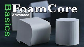 FoamCore Advanced Basics Tutorial Guide FoamBoard model making: modeling tips & tricks for Designers
