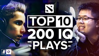 The Top 10 200 IQ Dota 2 Plays