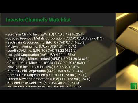 InvestorChannel's Gold Watchlist Update for Friday, July 2 ... Thumbnail