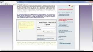 Lesson 4: How to Find and Send your Cal Grant Verification Page