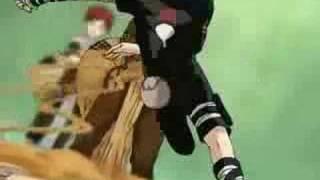Gaara Vs Sasuke / Dehumanization Arch Enemy