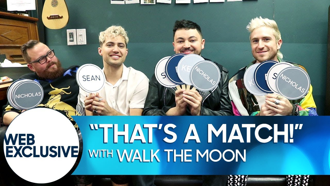 """That's a Match!"" with WALK THE MOON thumbnail"