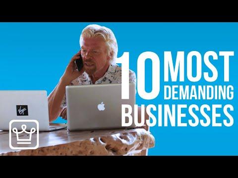 , title : '10 Most DEMANDING Businesses
