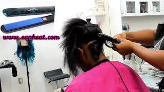 Messy Curls On Type 4 Hair !!!
