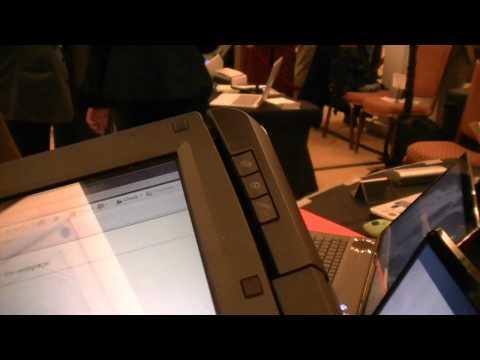 Fujitsu Lifebook T580 Convertible Windows Tablet PC, CES 201