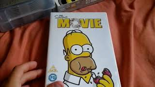 My Simpsons DVD Collection (Part 3 and Futurama DVD Collection)