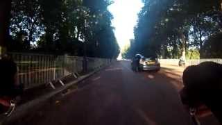 preview picture of video '16/09/2013 - Mile End to Brook Green commute: Part I'