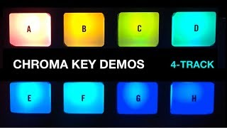 "Chroma Key: ""4-Track (demo)"""