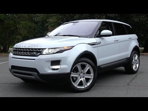 2015 Land Rover Range Rover Evoque 5-Door Start Up, Road Test, and In Depth Review