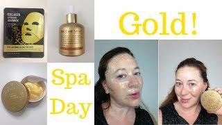 Masqueology 24K Gold Mask, Serum, & Eye Gel Patch Review