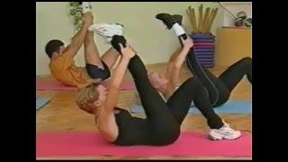 Смотреть онлайн Упражнения калланетики для начинающих на дому