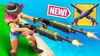 Double Heavy Shotgun New Meta Ninja Trolling A Noob Fortnite Highlights Amp Funny Moments 15