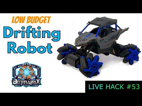 Drifting Robot Live Hack