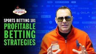 Sports Betting 101 with Steve Stevens - Profitable Betting Strategies