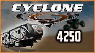 2018 Heartland Cyclone 4250 Fifth Wheel Toy Hauler RV For Sale Lakeshore RV Center