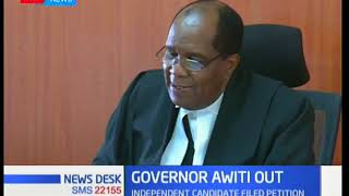 Judge Karanja: This is why I nullified Governor Awiti's win