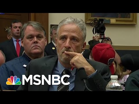 Jon Stewart Tells Congress Never Forget 9/11 First Responders | The Last Word | MSNBC