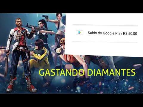 🔴GASTANDO DIAMANTES PELA PRIMEIRA VEZ NO FREEFIRE!!