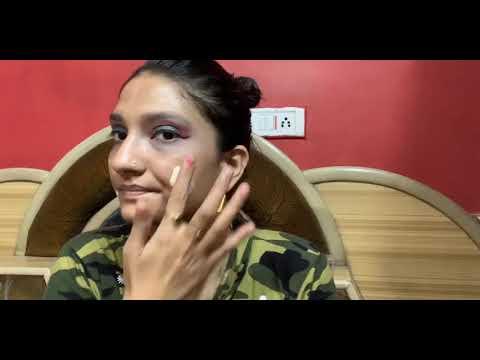 Durga pooja makeup tutorial ll2019 Easy eye makeupll