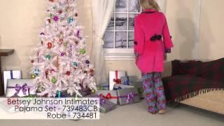 25 Sets of Christmas - Betsey Johnson Intimates Pajama Set and Robe
